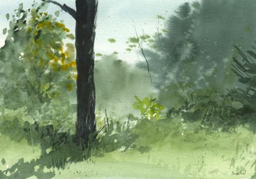 """Under the Apple Tree"" Artist: Sean Seal"
