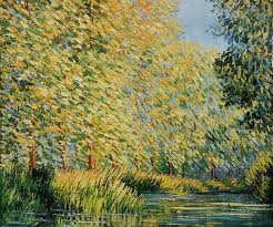 """Bend in the Epte"" Claude Monet"