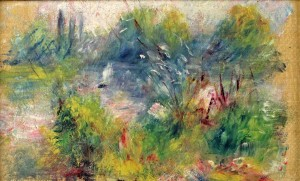 """On the Shore of the Seine"" Renoir"