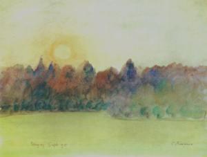 """Eragny"" Camille Pissarro"