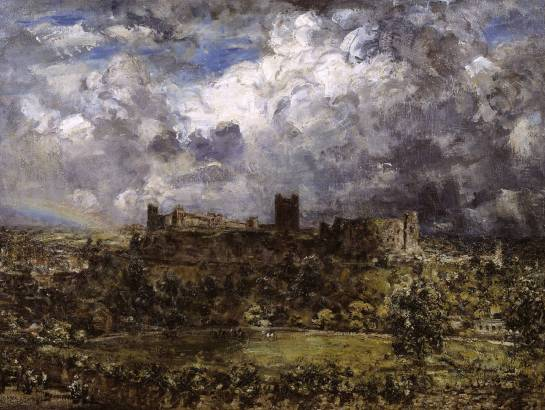 "Philip Wilson Steer ""Richmond Castle"""