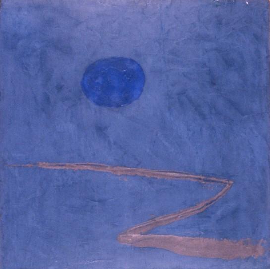 """Der Weg ins Blaue"" 1934 Paul Klee"