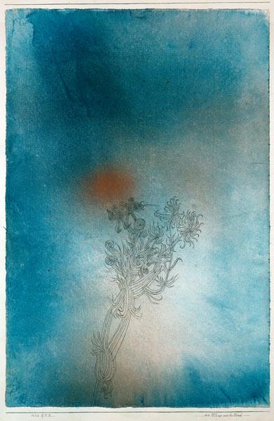 """""""die pflanze und ihr feind"""" Paul Klee"""
