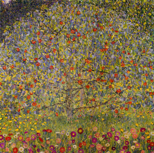 apple tree 1 gustav klimt
