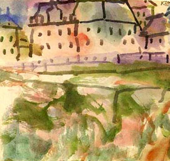 Paul-Klee-Houses-near-the-Gravel-Pit