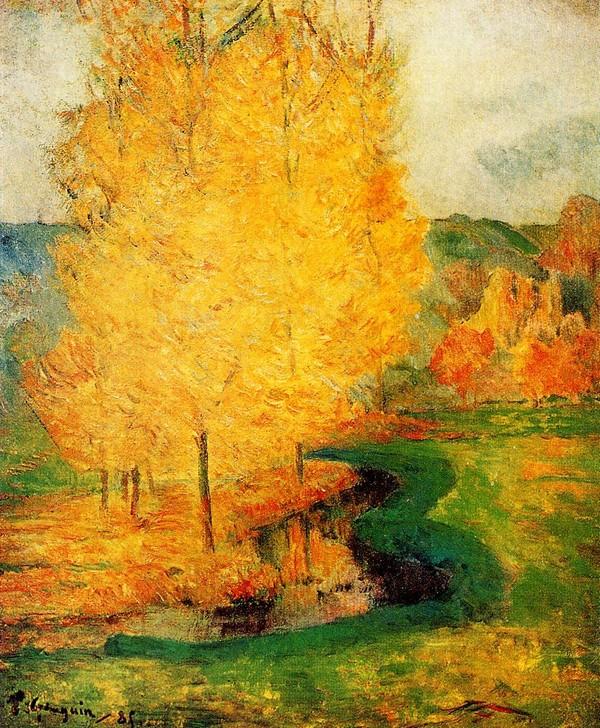 Autumn-by-Paul-Gauguin