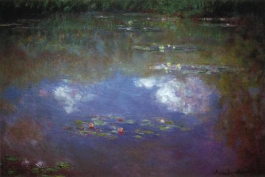 Monet_WL_Pond_Clouds