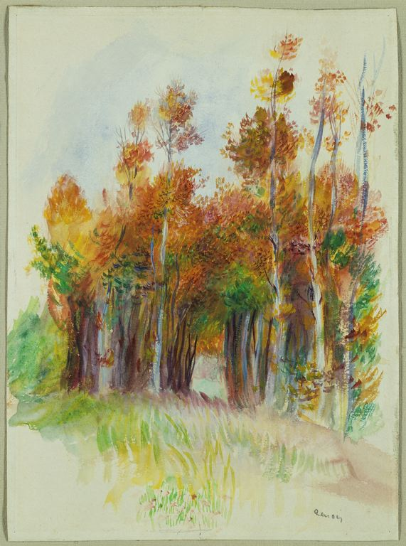 grove of trees -Renoir