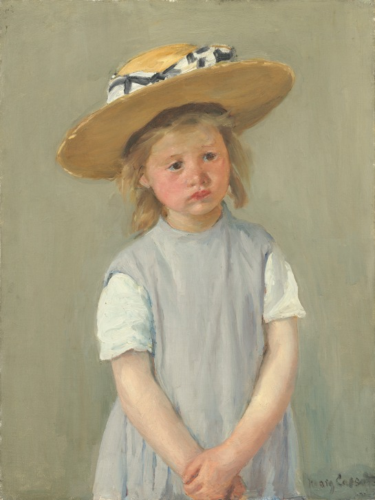child_in_a_straw_hat_by_mary_cassatt_c1886
