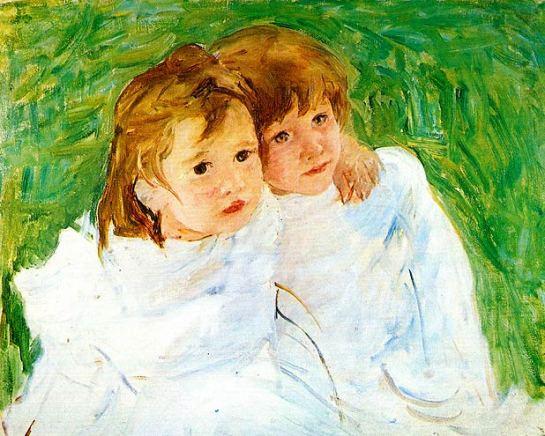 Mary Cassatt Sisters