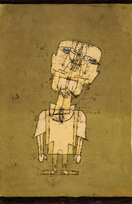 Klee, Paul, 1879-1940; Gespenst eines Genies, No.10 (Ghost of a Genius)