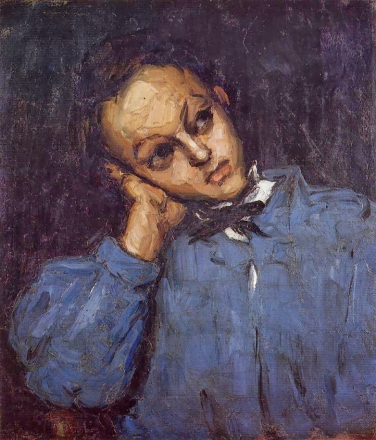1866 Portrait of a Young Man oil on canvas Private Collection