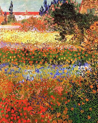 Garden of Flowers Vincent van Gogh